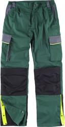 630d27ff7ab Pantalón linea 5, 3 colores Cintura elástica, multibolsillos,bolso  rodilleras, vivos reflectantes