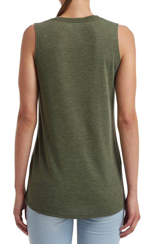 Calida Modal Athluxury Camiseta sin Mangas para Mujer