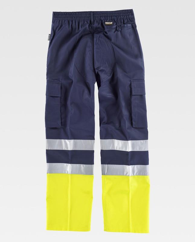 039 960 SOYACONCEPT Pantalon stoffhose Taille XL à XXL Bleu Doux Jeté de la bande élastique